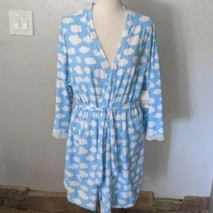 """NWT MENTALLY EXHAUSTED """"DREAM"""" CLOUD ROBE"""